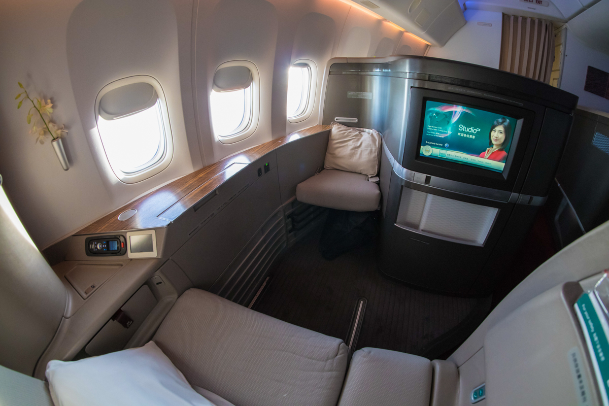 Cathay Pacific 777 First Class | Point Hacks
