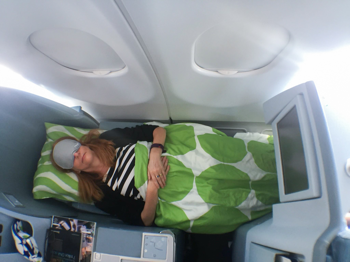 Finnair A330 Business Class