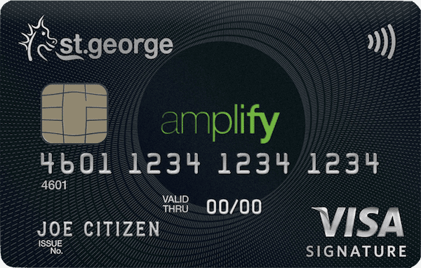 St. George Amplify Signature Visa Card | Point Hacks
