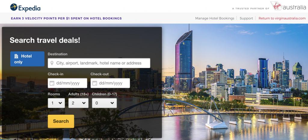 Velocity Hotels Expedia