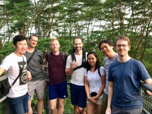 Meet the Point Hacks team and see how each person travelled to Singapore for our catchup