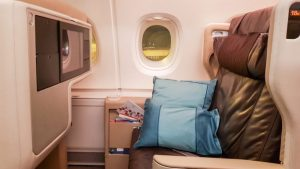Singapore Airlines A380 (old) Business Class overview