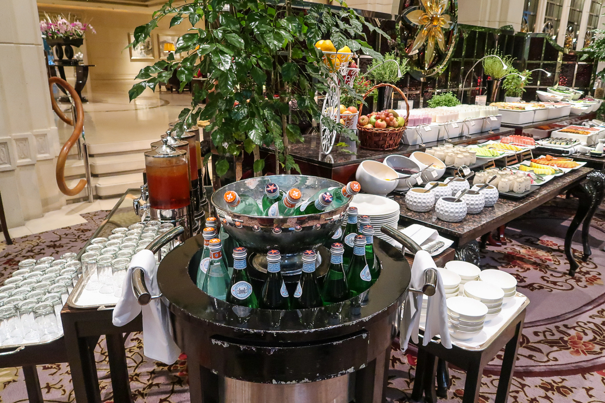 St. Regis Singapore buffet breakfast