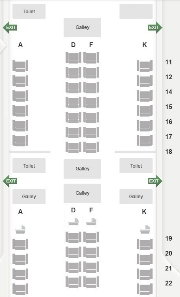 SQ A350 Seatmap | Point Hacks