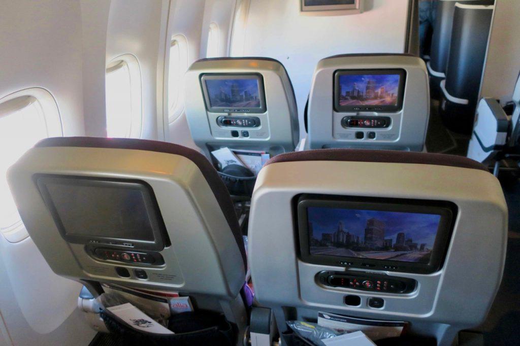 Virgin Australia 777 Premium Economy seats