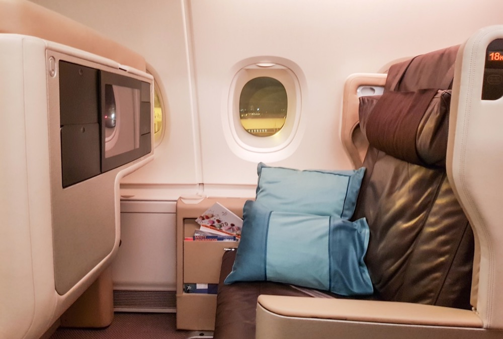 Singapore Airlines A380 Business Class review | Point Hacks