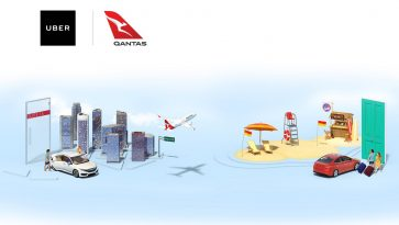 Qantas & Uber partner to offer Qantas Points for rides to and from select Australian airports