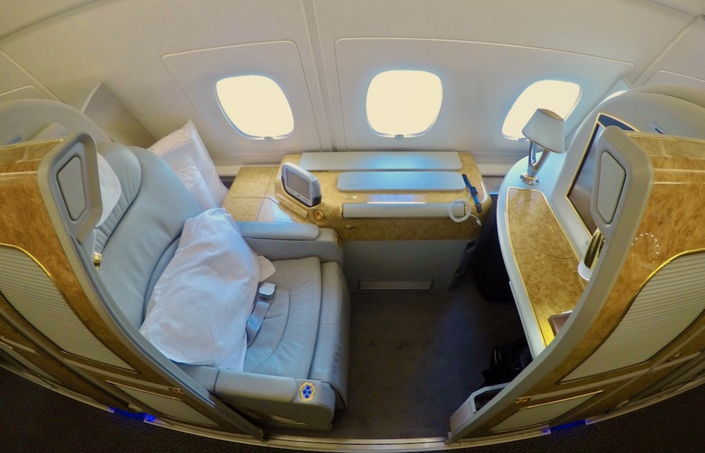 Emirates A380 First Class overview | Point Hacks
