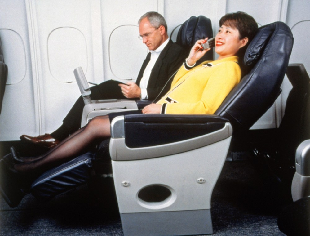 Delta Business Class (late 1990s)
