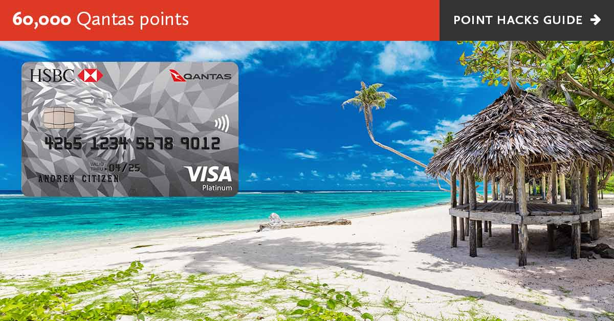 HSBC Qantas Platinum Visa Credit Card - Point Hacks review