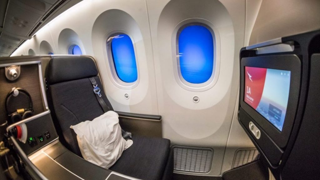 Qantas 787 Domestic Business Class