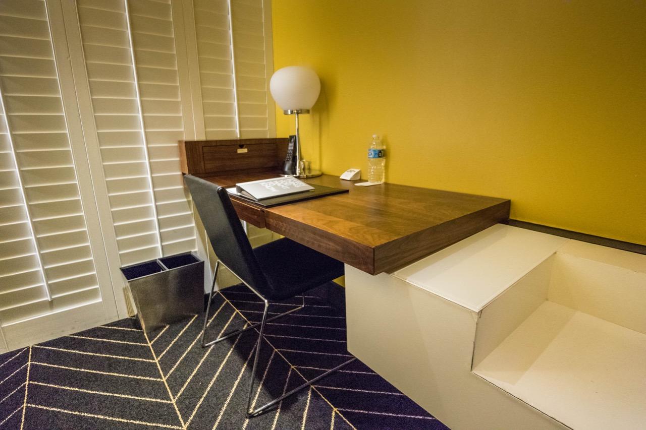 W Hotel New Orleans French Quarter Fantastic Suite work desk