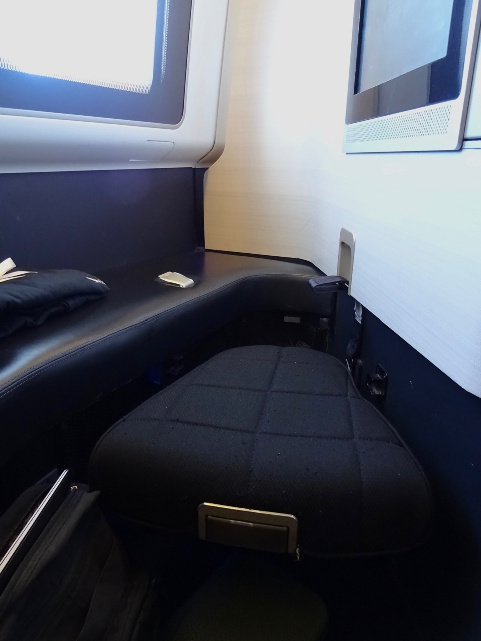 British Airways 777 First Class footstool