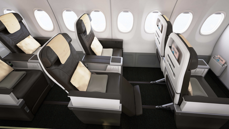 SilkAir Business Class seat