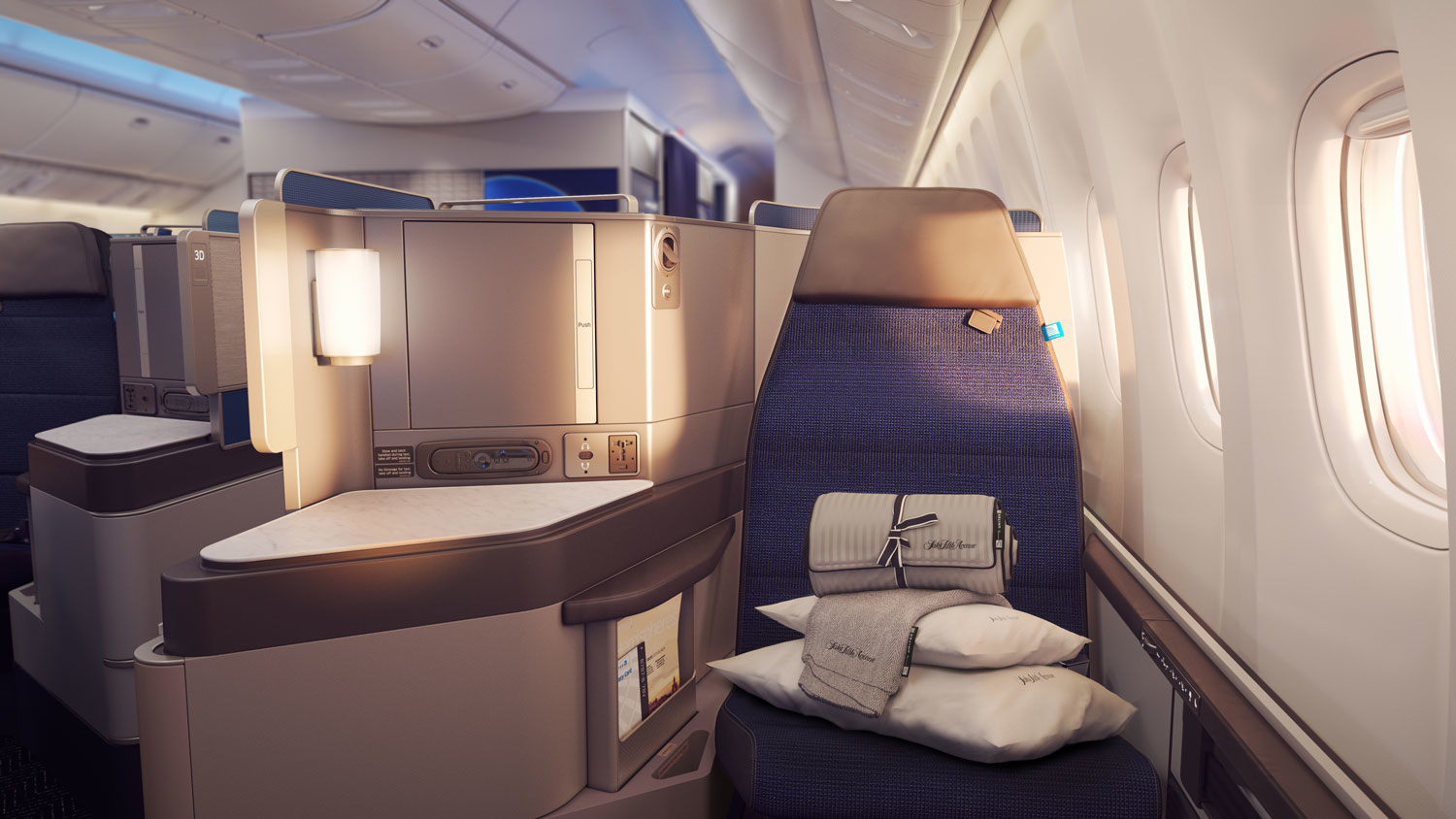 United Airlines 787 Business Class