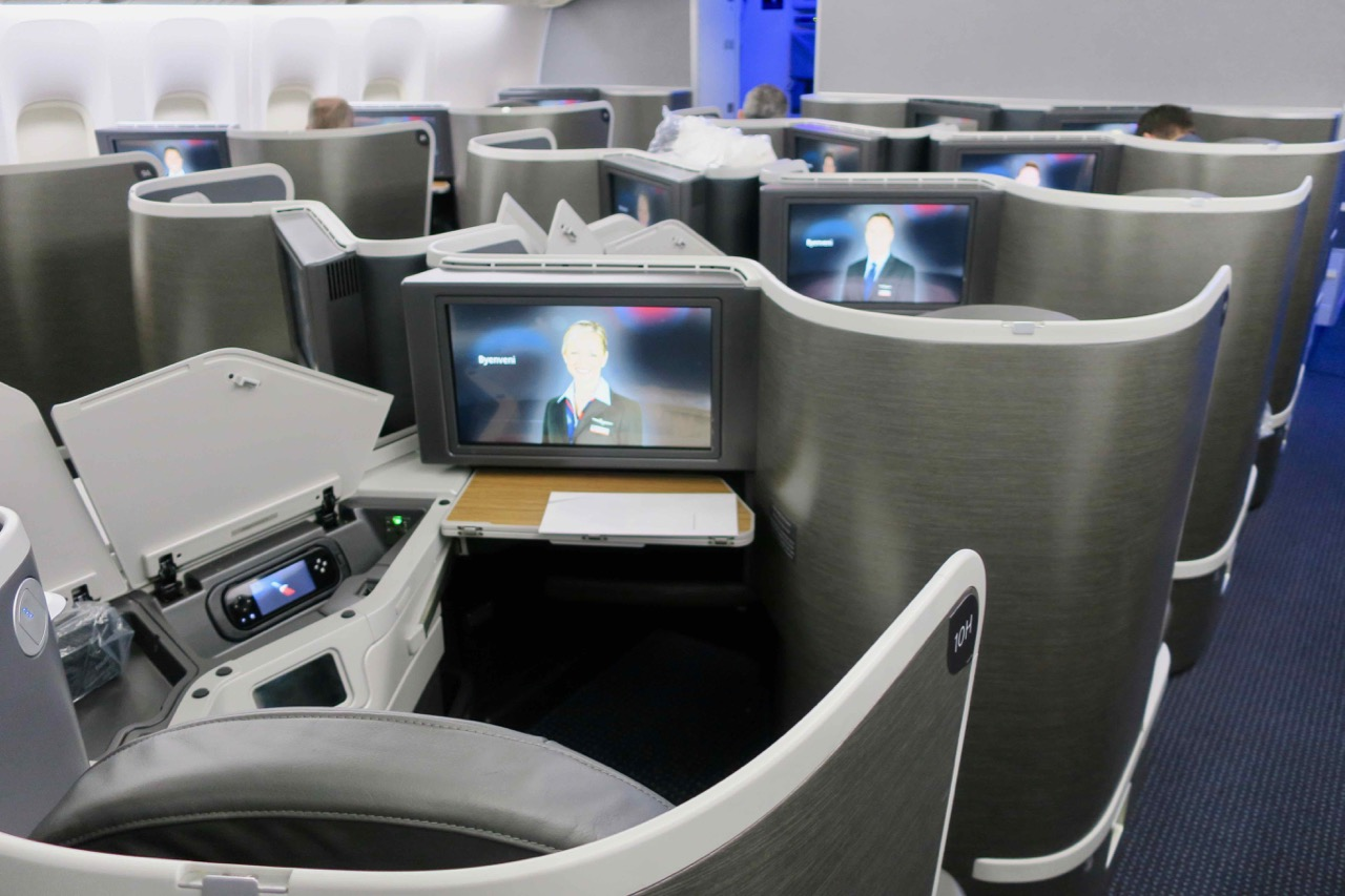 American Airlines 772 Business Class