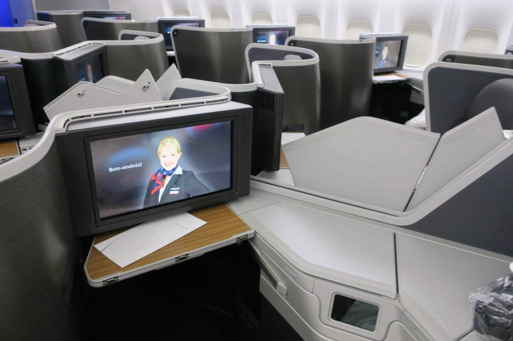 American Airlines 777-200 Business Class