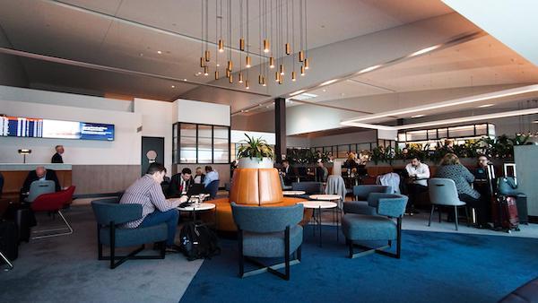 Qantas Domestic Business Lounge Melbourne