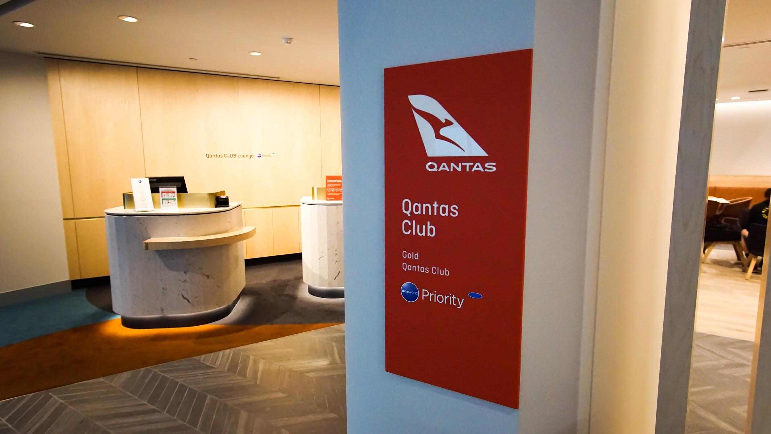 Qantas Club Melbourne location map