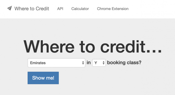 Where to credit | Point Hacks
