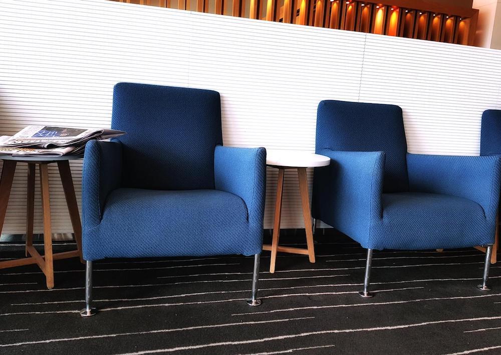 Qantas Melbourne Domestic Business lounge