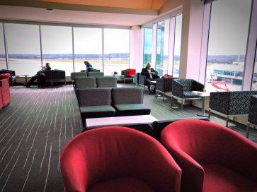 The Qantas Club Melbourne overview