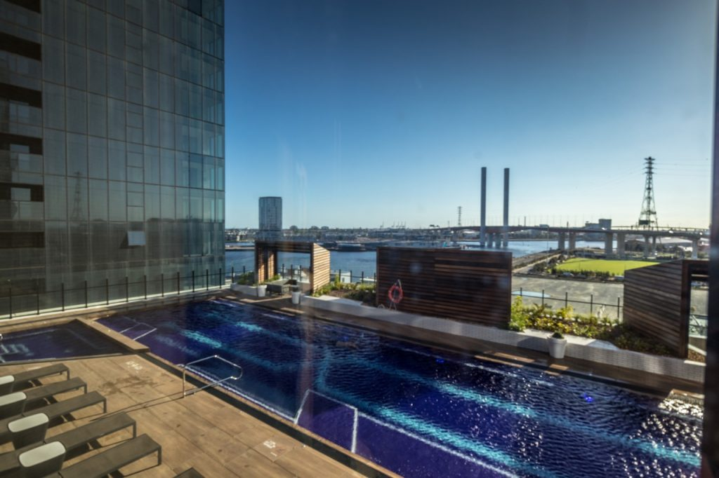 Four Points Melbourne Docklands Deluxe Harbour View Room