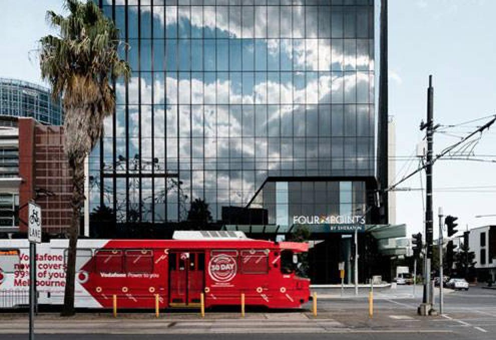 Four Points Melbourne Docklands Tram