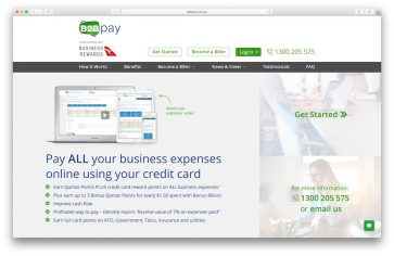 10,000 bonus Qantas Points when you signup for B2Bpay and spend $10,000+