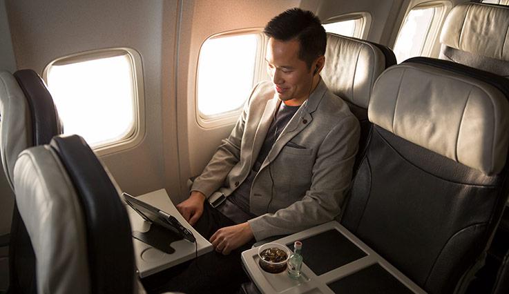 WestJet 737 Premium Economy