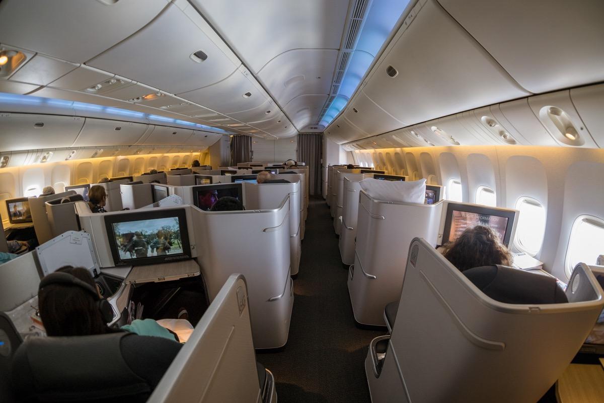 Air Canada 777 Business Class   Point Hacks