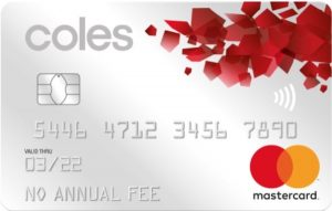 Coles No Annual Fee Mastercard – earn 1 flybuys point per $2 on spend plus $0 annual fee