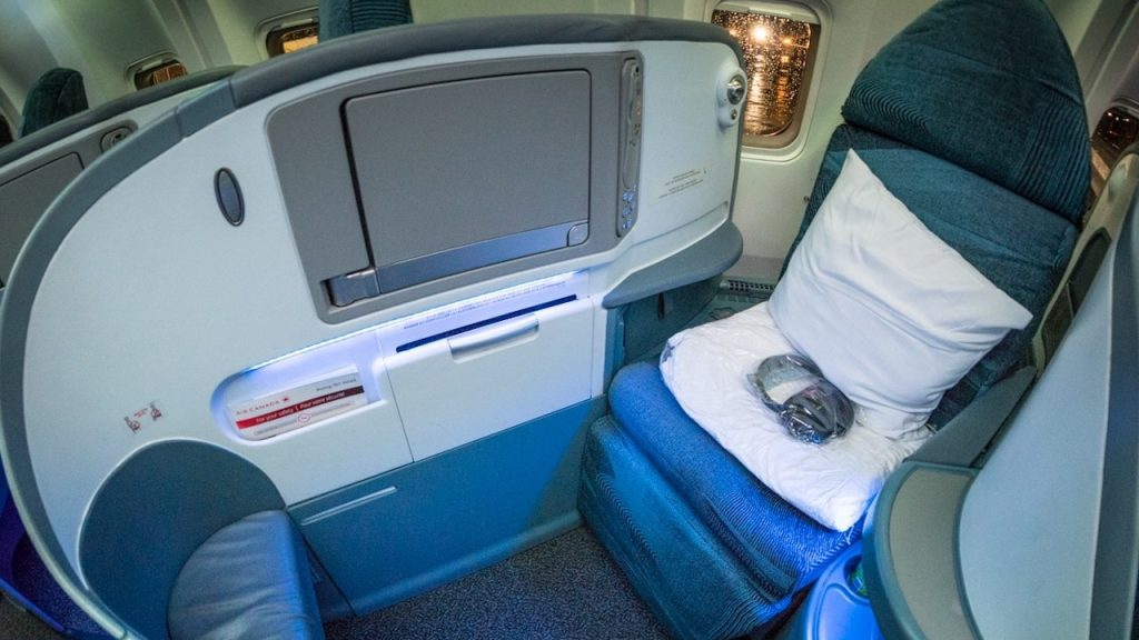 Air Canada Boeing 767-300 Business Class