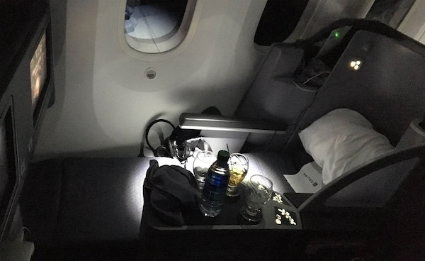 United 787 Dreamliner Business Class