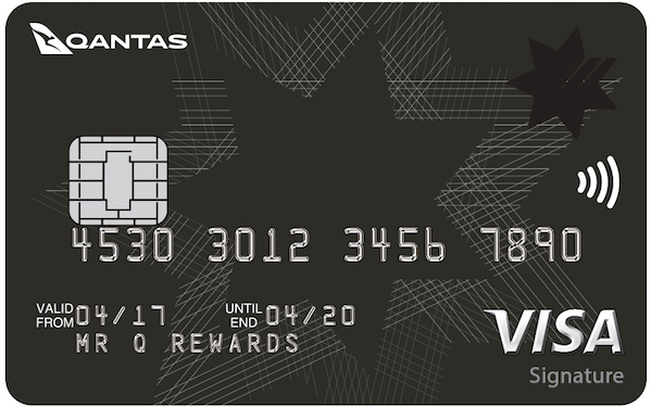 NAB Qantas Signature Credit Card