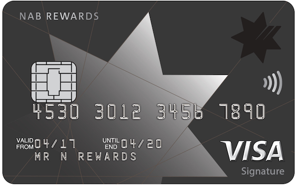 NAB Rewards Signature card | Point Hacks