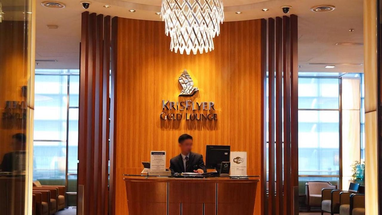 Singapore Airlines KrisFlyer Gold Lounge Changi Airport T3