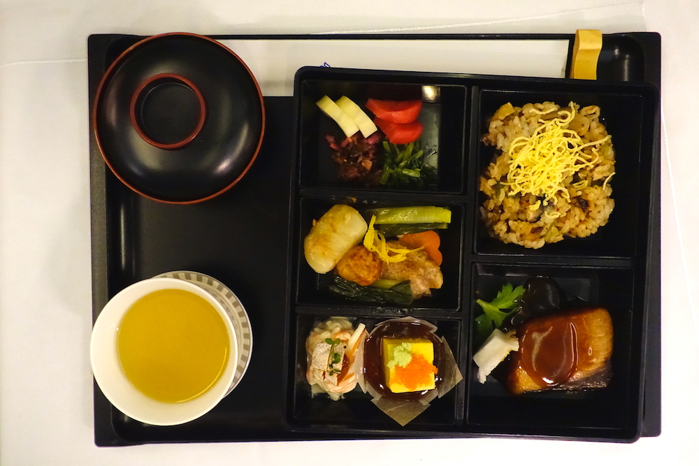 Singapore Airlines 777-300ER Food