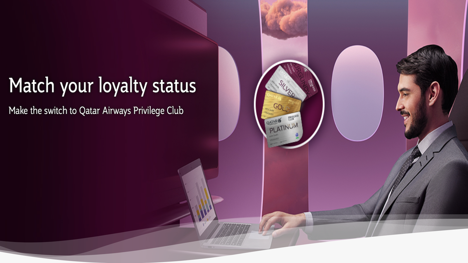 Hold Velocity status? If so, you can get status matched to elite levels in Qatar Privileges Club.