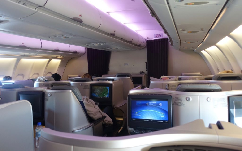 The Malaysia Airlines A330 Cabin