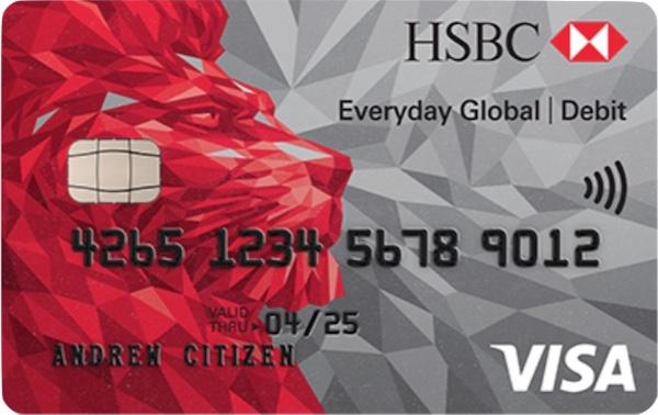 HSBC Everyday Global Account Visa card