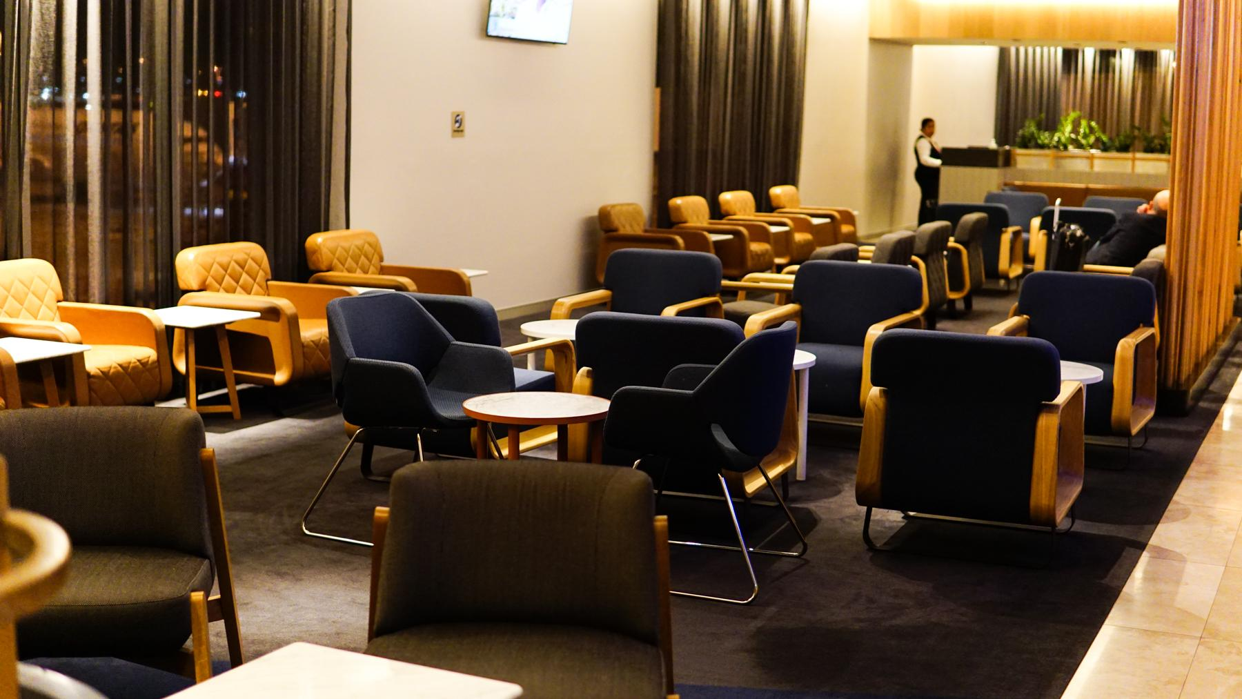 Qantas Domestic Business Lounge