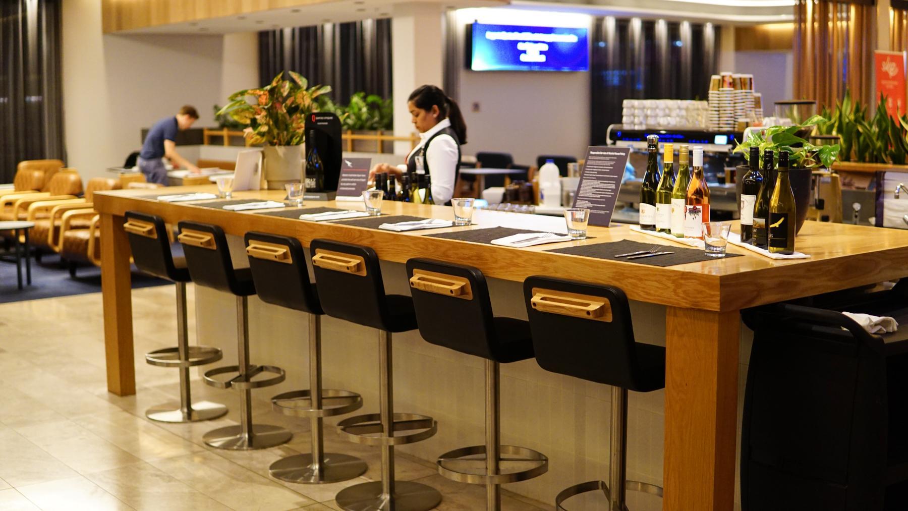 Qantas Domestic Business Lounge