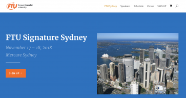 Frequent Traveler University is coming to Sydney next month!