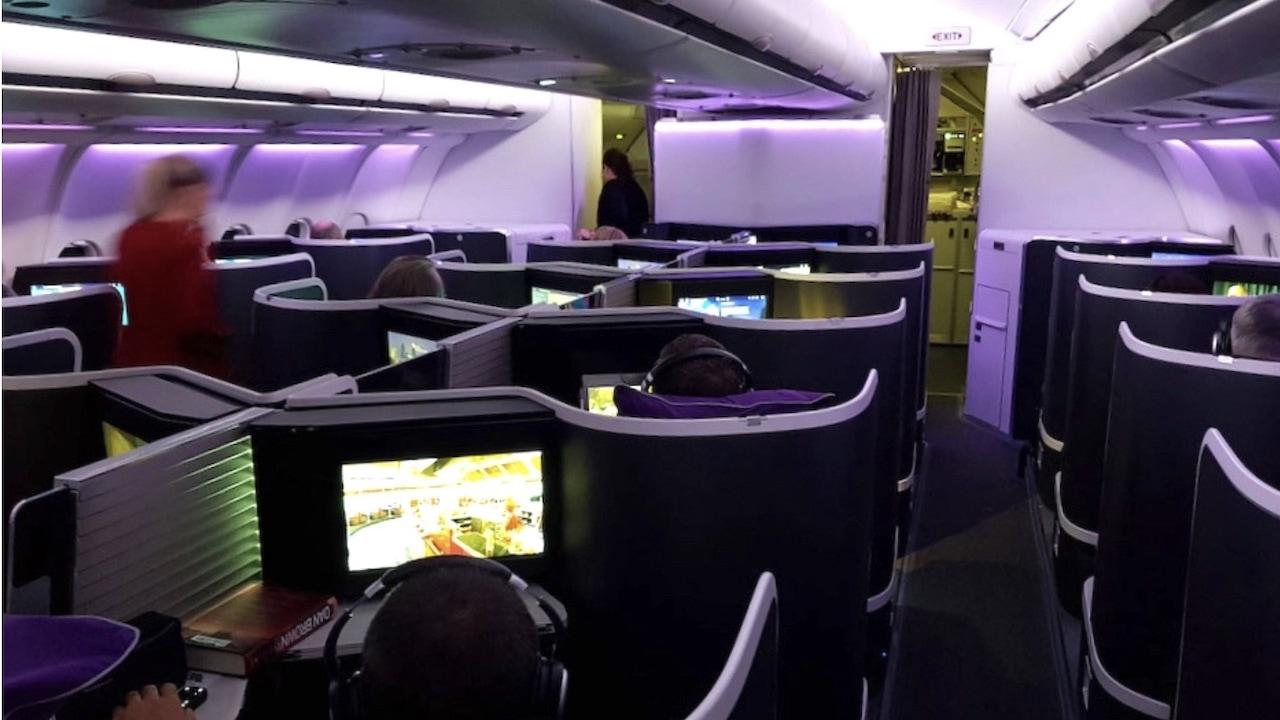 Qatar Airways A330-200 Business Class