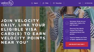 Velocity Daily promotion offers up to 5 bonus points per $ spent at small businesses