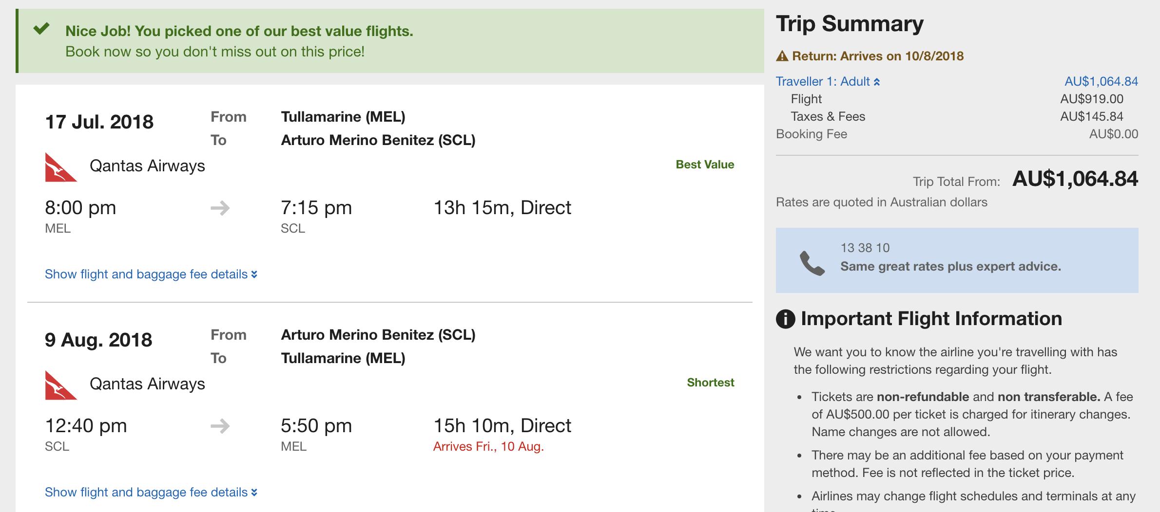 LATAM flight deal