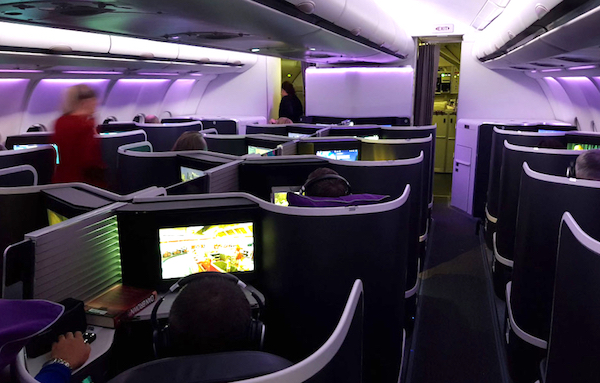 Virgin Australia A330 Business Class