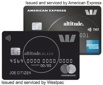 Westpac's Altitude Black offering 120,000 bonus points with no first year annual card fee with the American Express