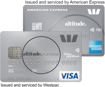 Up to 75,000 bonus Qantas or Altitude Rewards Points and $0 first-year annual card fee with the Westpac Altitude Platinum
